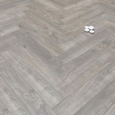 Prestige Herringbone Grey Oak 8mm Laminate Floor