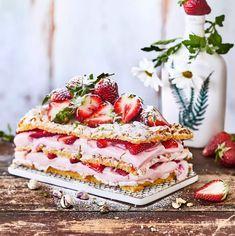 Piece Of Cakes, Christmas Baking, Tart, Waffles, Deserts, Brunch, Strawberry, Ice Cream, Bread