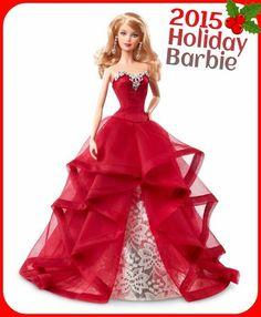 #barbie #barbiecollector 2015 Holiday Barbie Special Edition Barbie Magia delle Feste