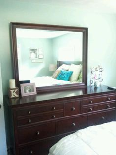 Bedroom, palladian blue, benjamin moore