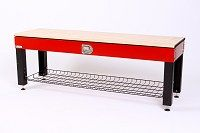 Activity Storage Bench w/Laminated Top - Performance Red