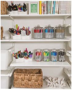 Craft Room Storage, Playroom Organization, Storage Ideas, Loft Playroom, Playroom Ideas, Study Room Decor, Cute Room Decor, Bedroom Decor, Wall Decor