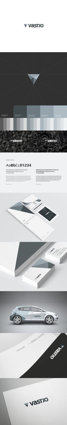 Vastjo identity and branding by Motyf Branding Studio