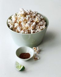 A big bowl of seasoned popcorn goes a long way -- and is an excellent healthy snack. There's a secret to getting every last kernel to pop (let stand 30 seconds), but this is among the easiest of snacks to make. Try it in one or more of our variety of flavors: sea salt-pepper; chili-lime; sesame-pepper; Pecorino-rosemary; smoked paprika; and spicy-sweet. This recipe originally appeared in Martha Stewart's Appetizers (Clarkson Potter).