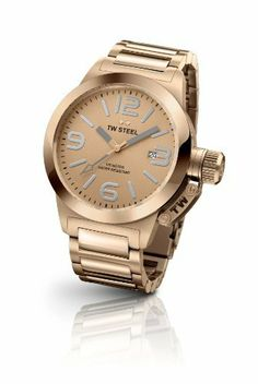 TW STEEL TW303 CANTEEN PVD ROSE GOLD PLATED 40mm Women's TW Steel. $412.50. Steel case with PVD rose gold plating Diameter of the case 40 mm Bezel PVD rose gold plated, bezel and mid-pieces of bracelet shiny PVD rose gold plated Rose gold colored dial Reinforced mineral crystal Crown is covered by a crown cap which is attached to the case with a hook 10 ATM water resistant Steel bracelet with PVD rose gold plating