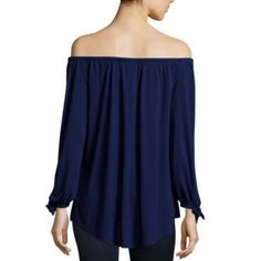 ebfb13e989b a.n.a. Off Shoulder Blouse - JCPenney Off Shoulder Blouse, Off The Shoulder