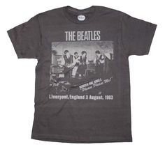 The Beatles CAVERN CLUB 1963  mens T-Shirt  FREE delivery! 100% cotton tee  #ManorMusicStorecom…