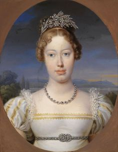 Marie Caroline of Austria, Crown Princess of Saxony.