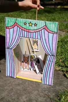 Here are 10 perfect puppet theaters that set the stage for imaginary play.