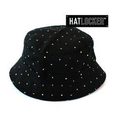 Milton Black Bucket Hat by Obey   www.hatlocker.com #obey #buckethat #milton