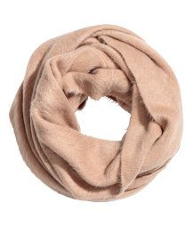 Knit Tube Scarf   Beige   WOMEN   H&M US