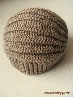 Varrogató: AVIATOR SAPKA (ezt el kell készíteni!) Marie Madeleine, Knitted Hats, Crochet Hats, Diy And Crafts, Crochet Patterns, Beanie, Knitting, Crocheting, Crochet Cap