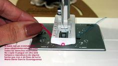 Como obtener ojales prolijos con máquina de coser casera