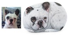 Good evening, guys! I just finished a new close-up portrait of a nice french bulldog named Rocky! It's hand painted in acrylic on a smooth sea pebble, signed on the back and protected with a layer of matt varnish. What a unique gift idea! Contact me to order your pet portrait or visit my Etsy shop: www.etsy.com/RobertoRizzoArt | #dog #paintedpebbles #paintedstones #paintedrocks #rockart #dogs #petportraits #giftidea #etsy #etsyfinds #robertorizzo #rockpainting #art #fineart