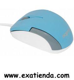 Ya disponible Rat?n Approx USB micro mouse azul    (por sólo 11.95 € IVA incluído):   -Micro raton óptico con cable USB2.0, disponible en atractivos diseños en colores, compacto y ergonómico. Es ideal para niños o para usarlo con netbooks y notebooks.  -Diseño compacto y ergonómico -Con cable USB2.0 -Resolución: 1200dpi -Plug and Play -compatible con: Windows XP/Vista /7 -Color:Azul celeste/ gris/ blanco -Dimensiones: 7,5 x 4,3 x 3,1 cm -Material: plástico  -P/N: