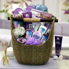 Lavender Sky Ultimate Bath and Body Gift Basket