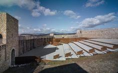 EERJ. Adecuación del Patio de armas del Castillo de El Real de la Jara