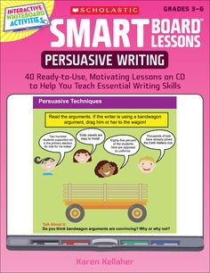 persuasive essay smartboard lessons This is a common core aligned persuasive essay unit and lesson bundle that teaches students how to write a 5-paragraph persuasive essay these lessons are aligned to the 3rd grade common core state standards for opinion writing, but can be used for differen subjects: english language arts, writing-essays, tools for common core.
