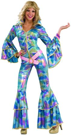 PartyBell.com - 70's Disco Mama Adult #Costume