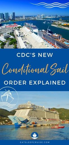 What the CDC's Conditional Sail Order Really Means for Cruising - While the No Sail Order has expired, cruising won't resume anytime soon. We explain what the new Conditional Sail Order really means for the future of cruising. #cruise #cruisenews #cruising #cruiseships #eatsleepcruise Evacuation Procedures, Federal Agencies, Norwegian Cruise Line, Shore Excursions, Family Cruise, Cruise Vacation, Sailing, Royal Caribbean, Medical Conditions