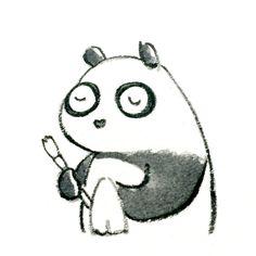 【一日一大熊猫】 2015.4.22 道具でも何でも予備やあまり多くの種類を持たないようにしてます。 管理が行き届かないから。 そしてしばらく使わなかった物は 使う人に差し上げたりして整理してます。 そして本当に使うものは大切に使います。