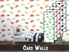 modelsims4's Cars Wall