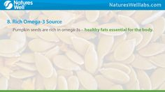 http://NaturesWellLabs.com. Research has indicated that pumpkin seeds, due to their high zinc, are beneficial to prostate health. Check our list of their other astounding benefits. Buy 100% (HMC) Halal Certified Vitamins & Supplements Now. Visit NaturesWellLabs.com