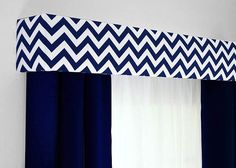Custom Pelmet Box Cornice Window Treatment by DesignerHeadboards