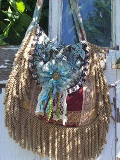 Bohemian Gypsy Hippie Magnolia Pearl Style Fringed by Fairybelles, $58.00