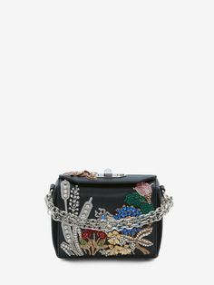 Shop Women's Box Bag 16 from the official online store of iconic fashion designer Alexander McQueen.