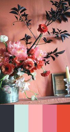 COLOR STUDY | 75 | valentine's day color palette - PINEGATE ROAD