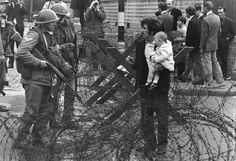 The border that divides the north from the Irish Republic is a trip wire which has the capacity to trigger a political explosion, writes Patrick Cockburn from Belfast Belfast, Northern Ireland Troubles, Irish Republican Army, Irish Independence, Londonderry, British Government, German Army, The Republic, Northern Ireland