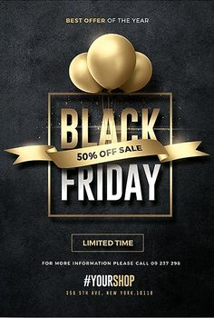 Awesome Flyer Templates – available - black friday Post Design, Email Newsletter Design, Newsletter Ideas, Creative Flyers, Creative Design, Psd Flyer Templates, Sale Flyer, Black Friday Deals, Wedding Humor