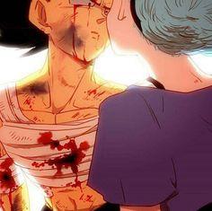 Bulma kisses Vegeta, love that sexual healing
