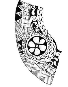 Polynesian Tattoo Drawings | Polynesian tattoo by artfullycreative