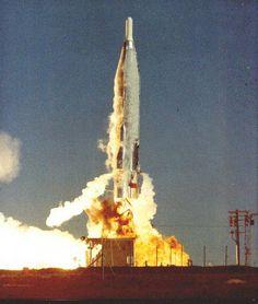 Atlas F launch