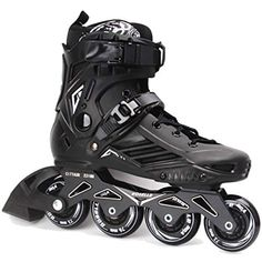ROSELLE Black Professional Roller Inline Skates Check out the image by visiting the link. (This is an affiliate link) Womens Inline Skates, Skate Man, Skate Wheels, Inline Skating, Fresh Shoes, Roller Skating, Tricycle, Sports Women, Black Men