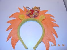 Lion king birthday party hat