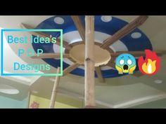 Hall pop Designs - YouTube Interior Ceiling Design, House Ceiling Design, House Design, Best False Ceiling Designs, Simple False Ceiling Design, Pop Design Photo, Picture Design, Plus And Minus, Simple Designs