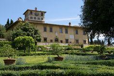 Firenze-Castello, Villa Medicea la Petraia | da HEN-Magonza