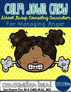 Anger Management : Calm Down Crew: Elementary School Counseling Group Curriculum for Managing Anger (scheduled via http://www.tailwindapp.com?utm_source=pinterest&utm_medium=twpin&utm_content=post78659937&utm_campaign=scheduler_attribution)
