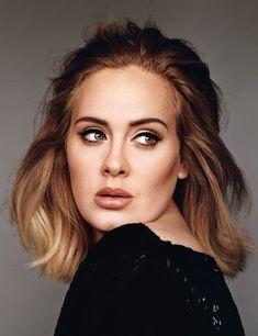 Celebrity Photos and celebrities images - Adele (Photo: Alasdair McLellan) Pretty People, Beautiful People, Beautiful Soul, Adele Photos, Amy Winehouse, Famous Faces, Hair Inspiration, Divas, Makeup Looks