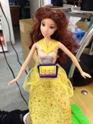 Floral Pump Cases That Fit Barbie