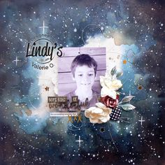 Tutorial Galaxy Background 2 for Lindy's stamp gang by Valerie Ouellet watercolor