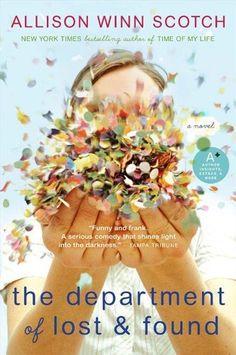 The Department of Lost & Found by Allison Winn Scotch, http://www.amazon.com/dp/B0017LGUSC/ref=cm_sw_r_pi_dp_hbijtb0WJ8EZ8