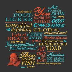 BBC: Shakespeare insults