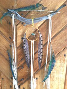 sticks and stones... a bohemian dream catcher // by SpiritTribe, $62.00