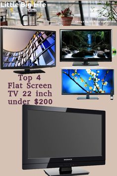 2b06285883b0d9 If you don t want to have one of the mini home theater projectors you can  be looking for a flat screen TV with 22 inch diameter for your bedroom,  office, ...