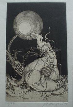 Taga shin 多賀新 版画から文学まで幅広い表現を持つ銅版画家 | デザインブログ バードヤード