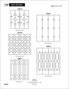 Cottage Porch Railings | sawn balusters porch railings | Cottage | Pinterest